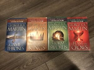 4 livres Games of Thrones (Anglais/VO)