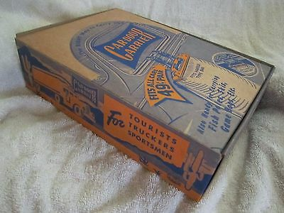 "RARE 1930s-40s CAR-DOOR CARRIER STORE COUNTER DISPLAY / SIGN ""NOS FULL BOX, MINT"