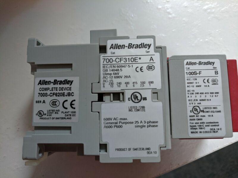 NEW in BOX Allen Bradley 700S-CF620EJBC / A Safety Control Relay