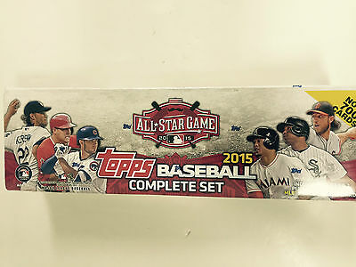 2015 TOPPS ALL-STAR GAME BASEBALL COMPLETE FACTORY BOX SET