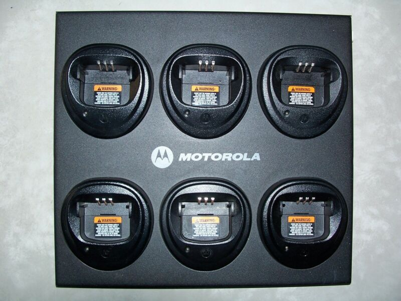 Motorola Gang Charger WPLN4171A w/aftermarket P/S