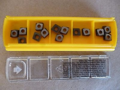 Kennametal - Ccgt060208lf Kc5010 Grade Carbide Inserts 14pcs 1310728