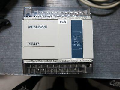 Mitsubishi Plc Programmable Controller Fx1n-24mt-d 24v
