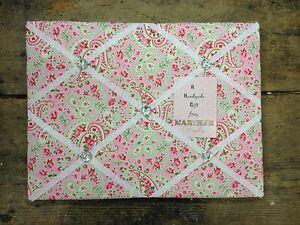 cath kidston ikea paisley fabric memo notice board 40x30cm. Black Bedroom Furniture Sets. Home Design Ideas