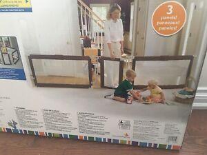 Baby gate. Custom fit gate