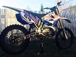 yz 250 2007 echange contre 450 injection