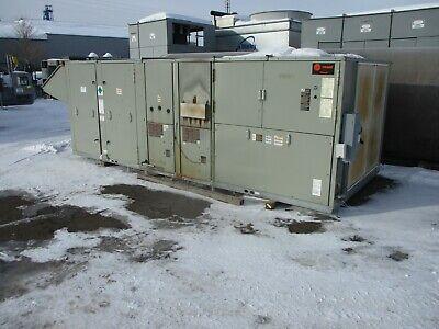 Trane Ycd Voyager Rooftop Unit Ycd360b4pl1c2de10000000h000m0p00 30 Ton 460v Used