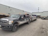 9 ton float service, 5th wheel and camper transpoty