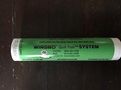 Lot Of Ten Wirsbo Upanor Quik Trak Sealant
