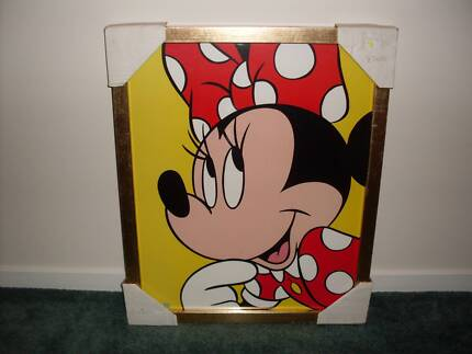 Kids/childrens Minnie Mouse/Teddy Bears Prints Picture frames
