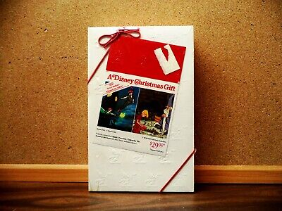 A DISNEY CHRISTMAS GIFT (VHS 1982) ORIGINAL, BRAND NEW GIFT WRAPPED BY DISNEY