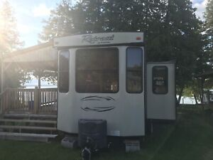 Waterfront Park model trailer with private dock Eganville Ontar
