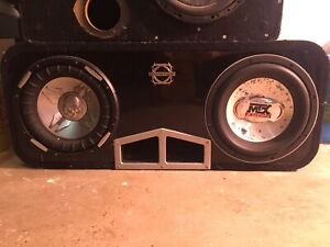2 - 10 inch subs in ported box