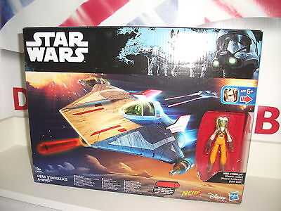star wars rebels / clone wars A-wing Star fighter + Hera syndulla postage discou