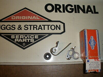 Briggs Stratton Gas Engine Breaker Point Set 292021 New Old Stock Vintage