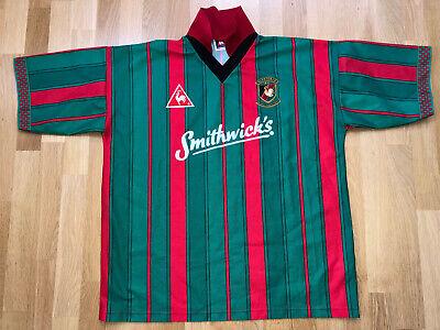 *NEW* FC Glentoran 46/48 1996 1997 le coq sportif Shirt Jersey third trikot X448 image