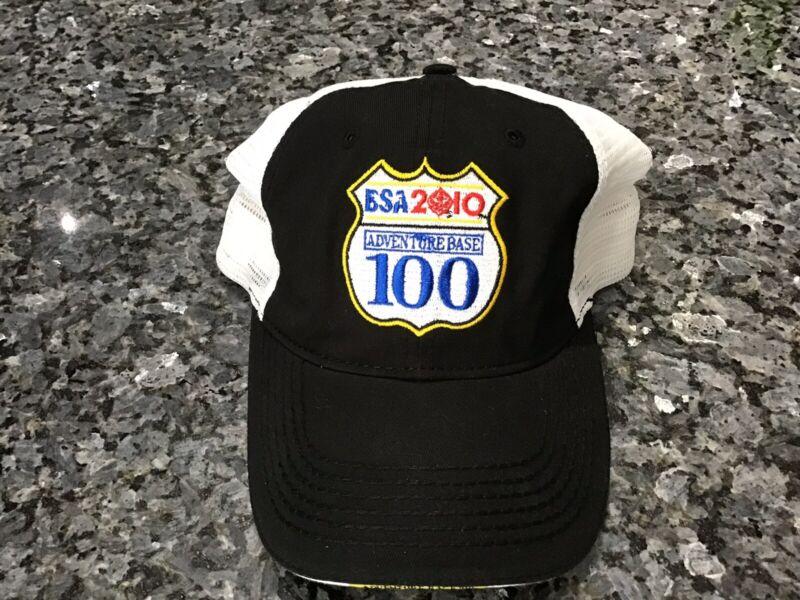BSA 2010 Adventure Base 100 Rare Snapback Hat NWOT Boy Scouts