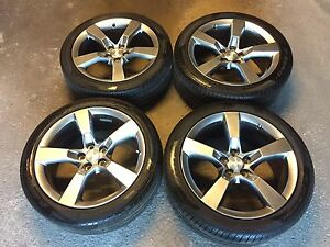 """2013 Chevrolet Camaro RS 20"""" OEM Rims and Tires"""