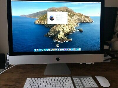 "APPLE IMAC 27"" screen i5, 5k screen 2017 model with extras"
