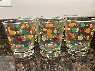 Polka Dot Drinking Glasses (Fiestaware Fiesta Polka Dot High Ball/Whiskey Glass Drinking - Set Of)