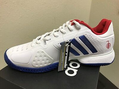 Adidas Tennis Shoe - Adidas Novak Pro Men's Tennis Shoe Style #BA8013