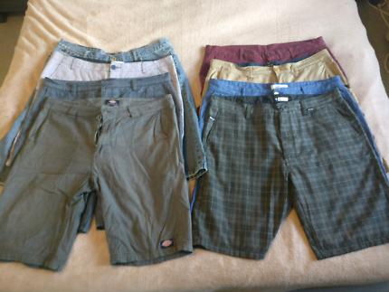 "Quiksilver, RipCurl, Dickies Mens Surf Brand Shorts (36-38"")"