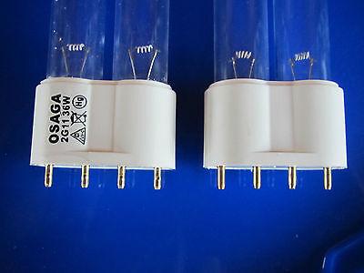36 Ersatz (Osaga 36 Watt UVC Ersatzlampe Ersatzröhre Röhre Lampe 2G11)
