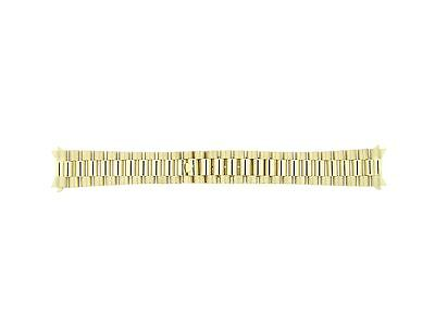 New Mens Aftermarket Solid 14K Yellow Gold Presidential Band 19mm for Rolex Date