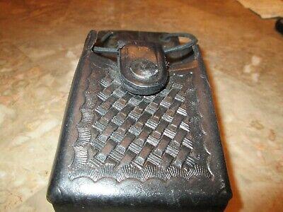 Used Black Bianchi 200s-2 Police Radio Holder With Belt Clip