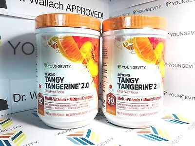 Beyond Tangy Tangerine 2.0 (2) pack multi-vitamin-mineral Dr. Wallach YGYI