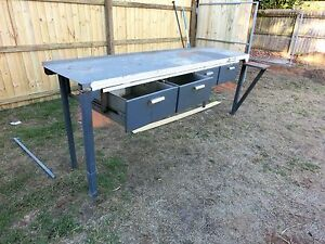 Steel Working Bench Victoria Point Redland Area Preview