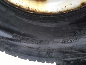 Chev/ gmc 6 bolt rims and tires