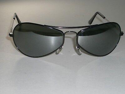 604ms B&l Ray-ban W2616 Schwarz G31 Voll Verspiegelt Luft Boss Ski Pilotenbrille