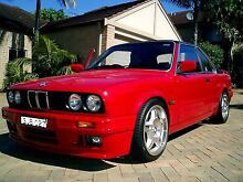 BMW E30 325is TURBO M52 BAUR CABRIOLET. Mona Vale Pittwater Area Preview