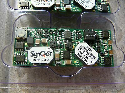 Synqor 20 Amp No Heatsink Isolated Dcdc Converter Pq60025egl20nrs New