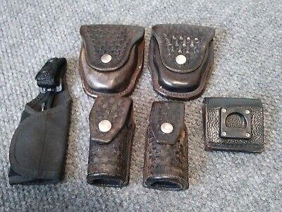 Vintagelaw Enforcement Duty Gear Handcuff Pouch Flashlight Holder Radio Swivel
