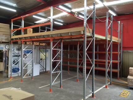 MEZZANINE FLOORS - PALLET RACKING