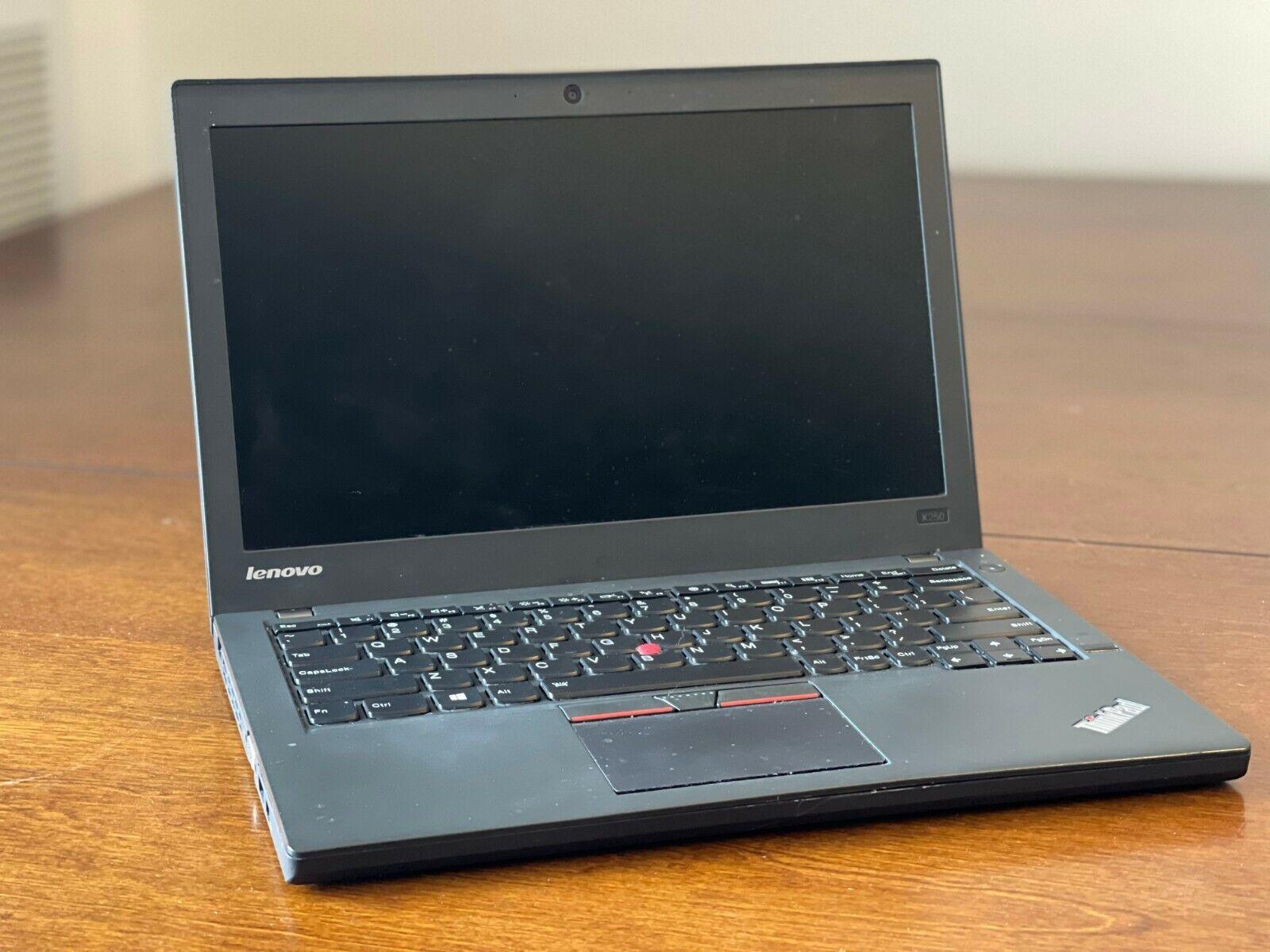 Lenovo X250, Intel Core I5, 8gb RAM, 256GB SSD. Windows 10 Pro - $200.00