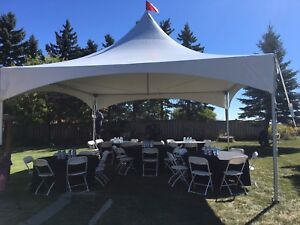 Tent and chairs for rent