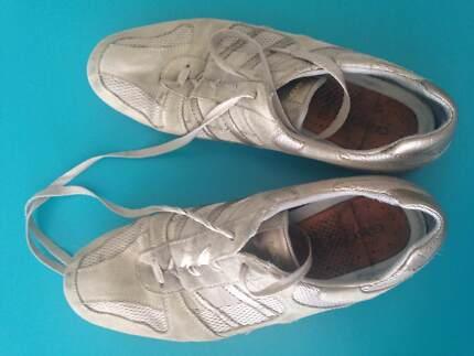 Used - 2 x Geox Sneakers and 1 x Rockport kitten heel