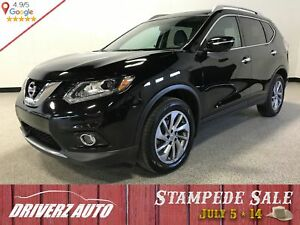 2015 Nissan Rogue SL AWD LEATHER, 360 CAMERA, NAVIGATION,SUNR...