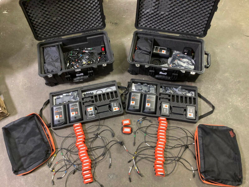 Large Xsens MVN Motion Grid Capture System - 10 Suits - Over $75k Original Cost