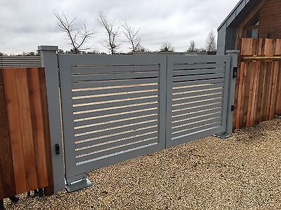 Aluminium Gates, Handmade in the UK built to order