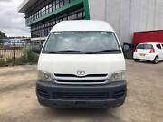 2008 TOYOTA HIACE COMMUTER TURBO DIESEL AUTOMATIC WHITE VAN Lansvale Liverpool Area Preview