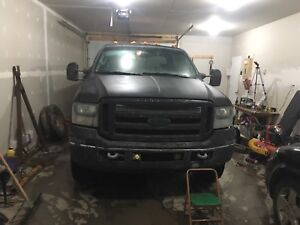 2005 f-250 6.0 diesel for parts or fix sgi write off