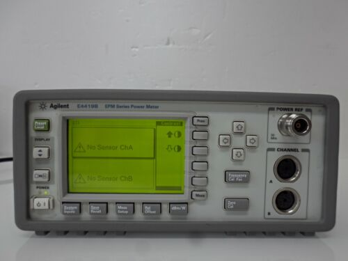 HP / Keysight / Agilent E4419B EPM Series  Dual-Channel RF Power Meter