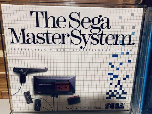Sega Master System NEW in box North America BRAND NEW IN ACRYLIC CASE