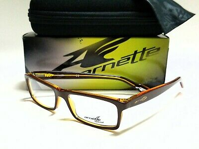 New Authentic ARNETTE RHYTHM 7065 1153 Brown Amber 55/16/145 (Arnette Eyeglasses)