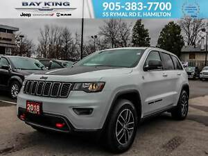2018 Jeep Grand Cherokee 4X4, GPS, BACK UP CAM, HEATED LEATHER S
