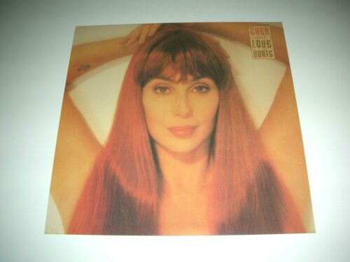 CHER Love Hurts 1 Sided Promo 12x12 Poster Flat 1991 Mint-